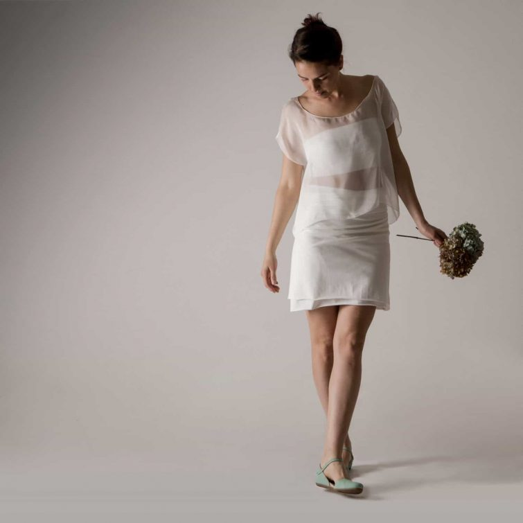 Jersey Wrap skirt