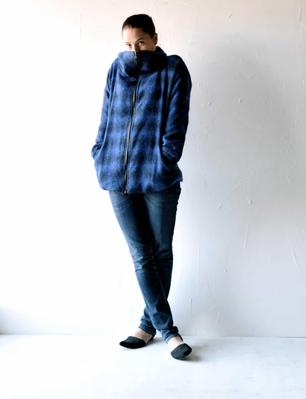 Tartan blue Jacket
