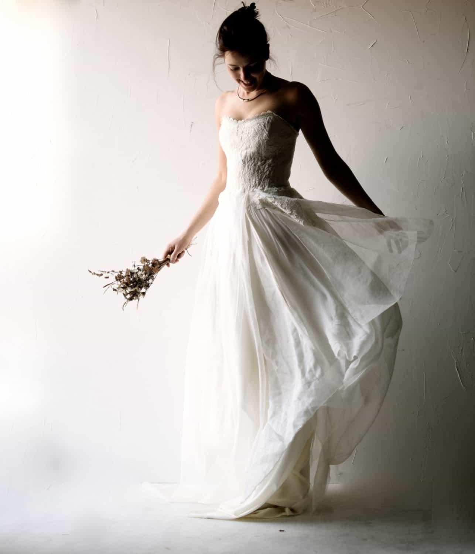 Bohemian Fairy wedding dress