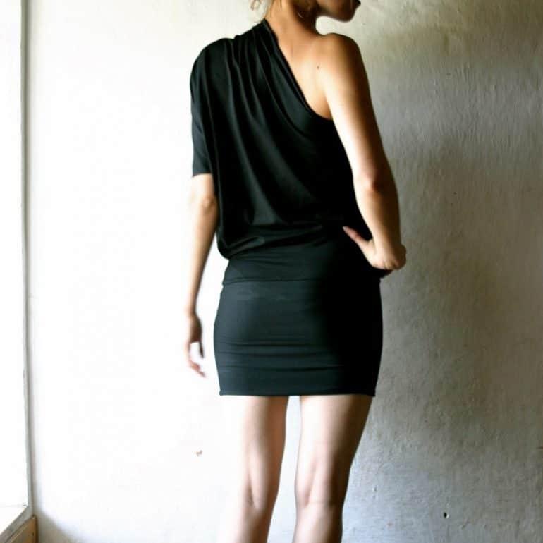 Jersey Off-the-shoulder Dress