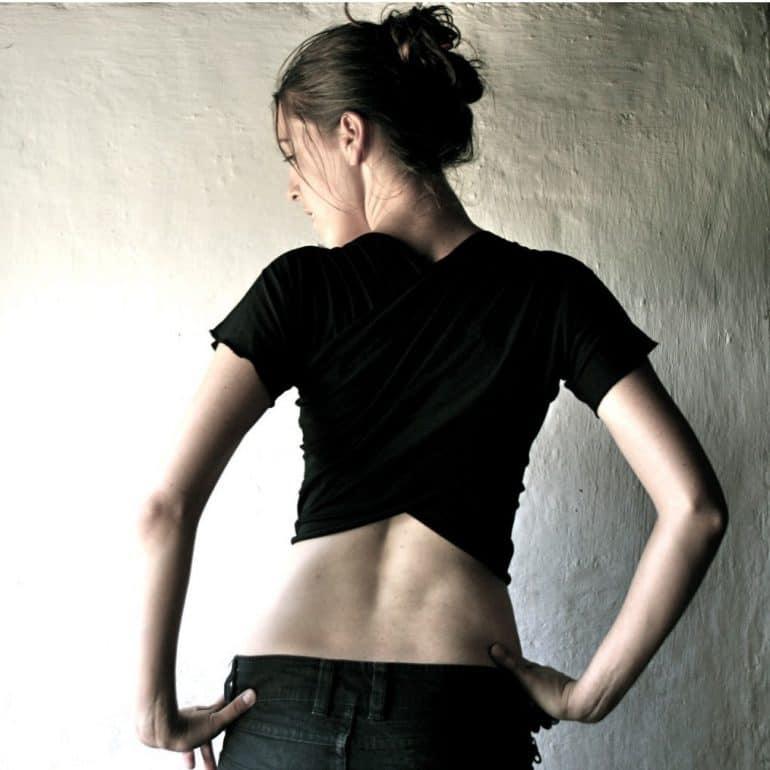 Black Shrug, Wrap top, Crop top, Wrap shrug, Short top, Tank top, Layering top, Sexy top, Short sleeve tshirt, Cropped top, Maternity