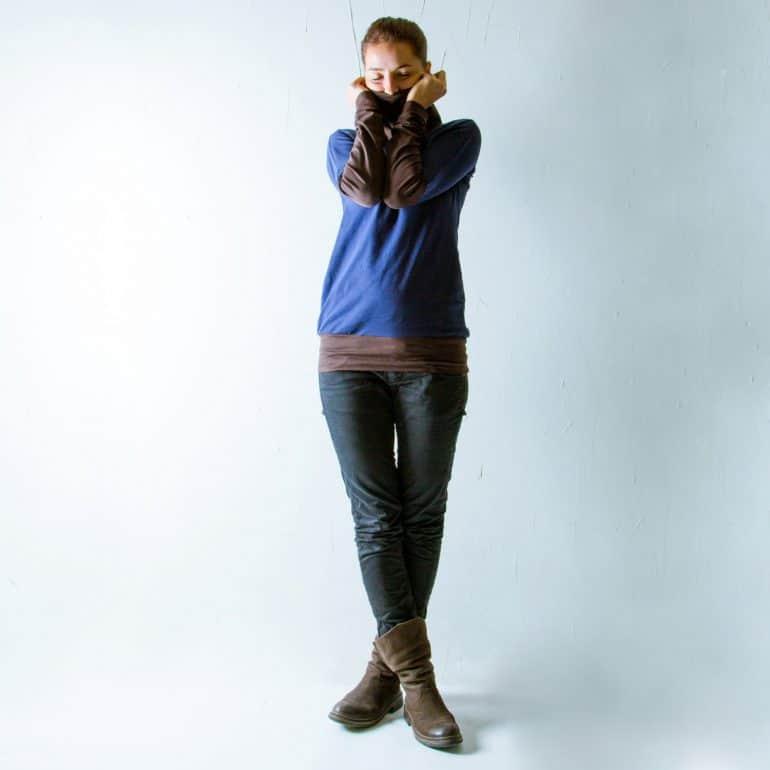 Basic cotton long sleeved tshirt