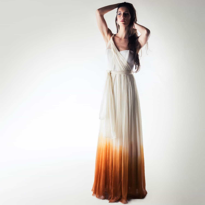 Wedding Dress Boho Wedding Dress Infinity Wedding Dress: Helianthus >> Made In Italy