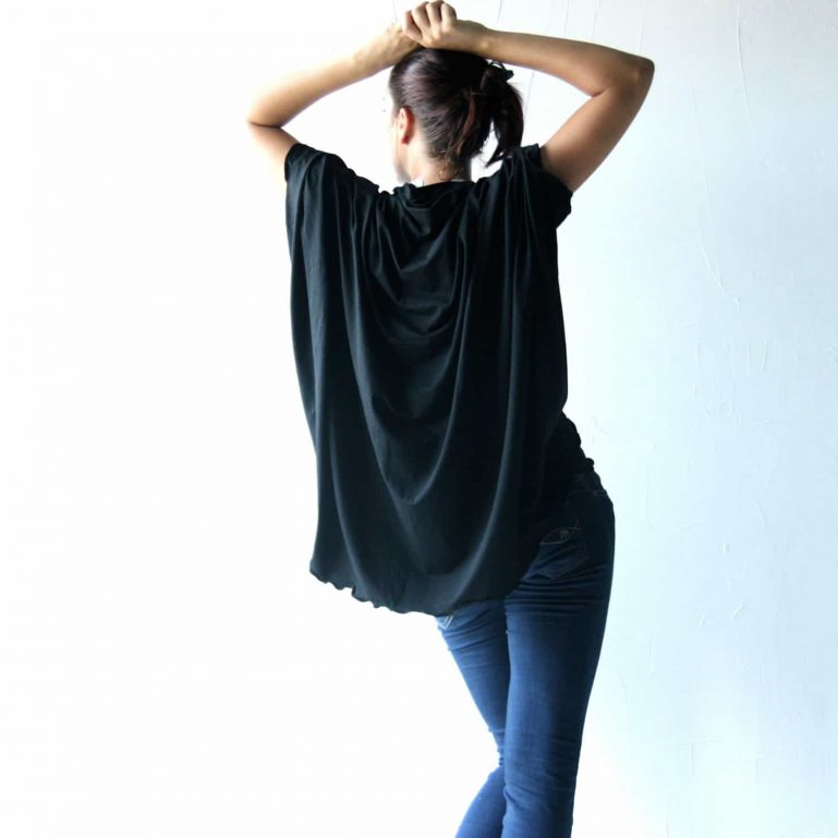 Oversized cardigan, Cotton sweater, Shawl, Black cardigan, Shawl top, Draped top, Jersey cardigan, plus size clothes, women's clothing
