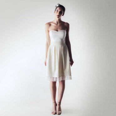 Short Winter Wedding Dress Larimeloom Bridal Collection