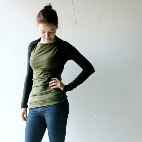 Shrug, Bolero, black shrug, Long sleeve top, Jersey top, Crop top, womens clothing, jersey shrug, Petite, Maternity clothing, layering