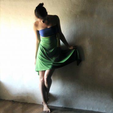 Strapless Backless Summer dress
