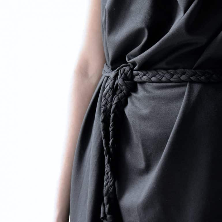 Tunic dress,  Black dress, Jersey dress, halter dress, Mini dress, Day dress, Plus size top, Maternity clothes, womens dress, Draped dress