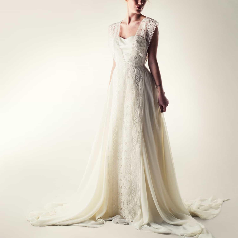 Lace Overlay - Larimeloom Wedding Dress