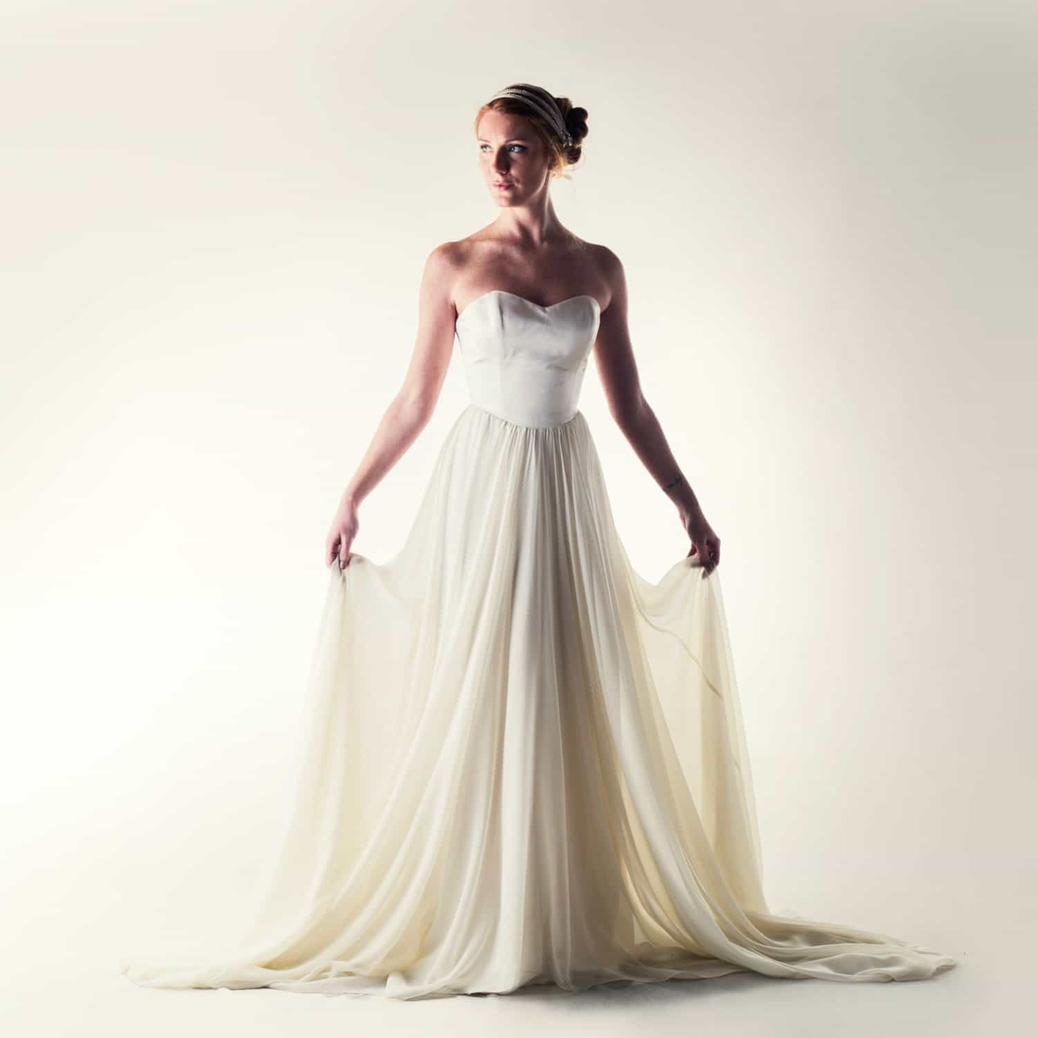 Lacey Fairy Wedding Dress Larimeloom Handmade Clothing