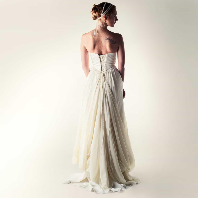 Lotus ~ Romantic princess wedding dress - Larimeloom