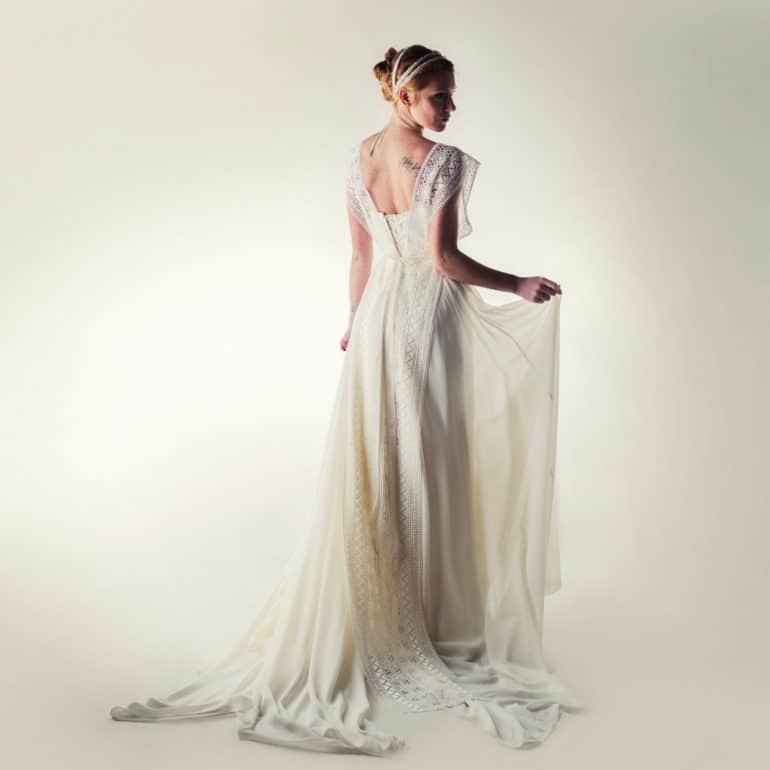 Wedding dress, Princess wedding dress, Fairy wedding dress, Silk wedding dress, Chiffon dress, Classic wedding dress, Corset wedding dress
