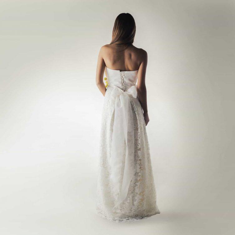 Wedding skirt, Lace skirt, Wedding dress separates, Bridal skirt, Unique wedding dress, Silk wedding dress, Boho bridal separates, A-line