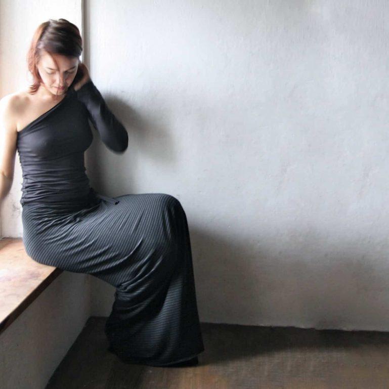 Wrap skirt, Maxi Skirt, Long skirt, Pencil skirt, Black skirt, Aline skirt, Stripe skirt, Winter skirt, Jersey skirt, Maternity clothes