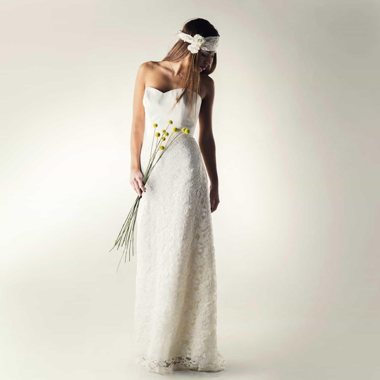 Bridal Separates: Lace Wedding Dress Separates