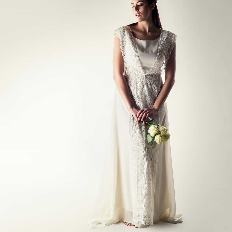 Pagan Wedding Dresses.Holly Plus Size Tunic Wedding Dress
