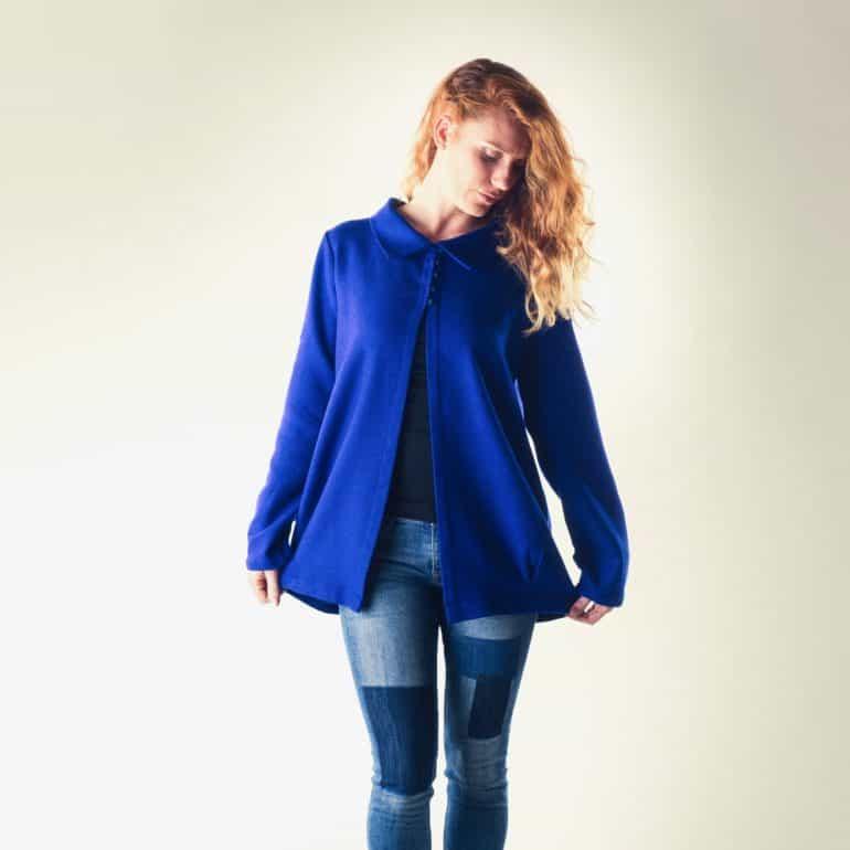 Royal blue Spring blazer