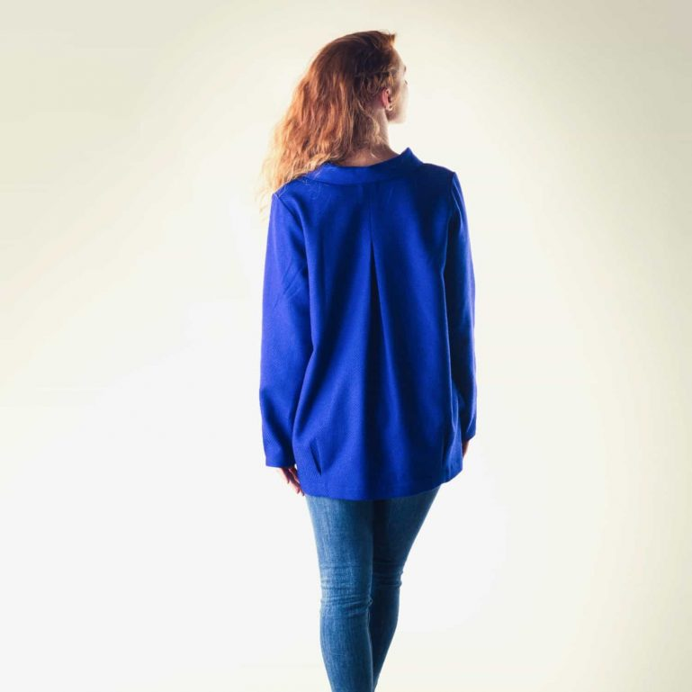 Royal blue Spring blazer