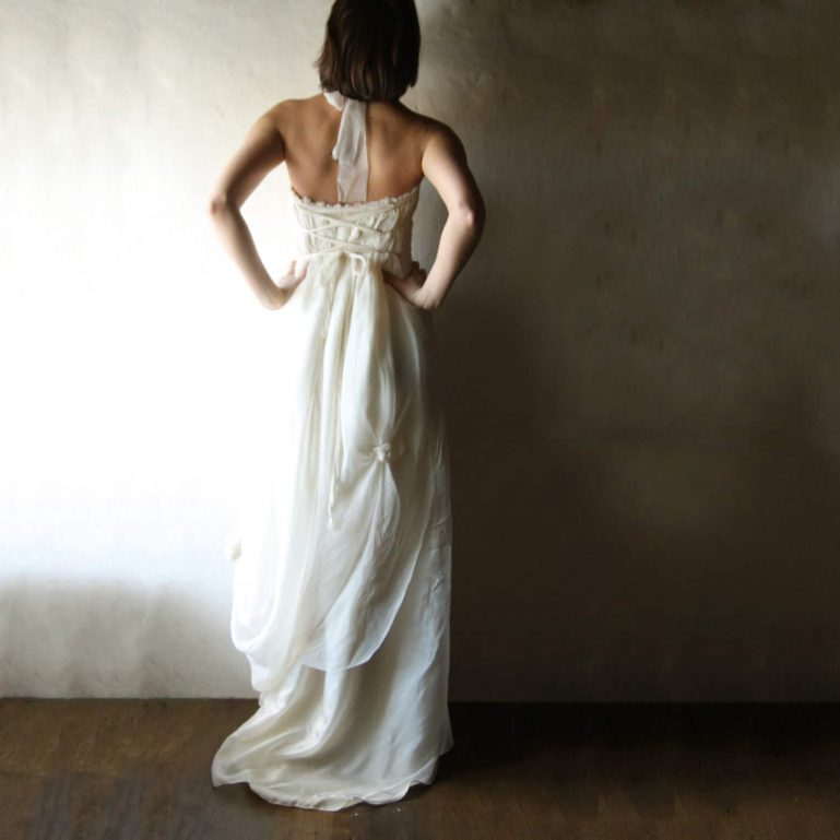 Amaryllis ~ Bohemian Wedding Dress