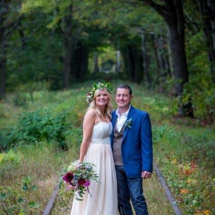 custom wedding dress larimeloom real bride