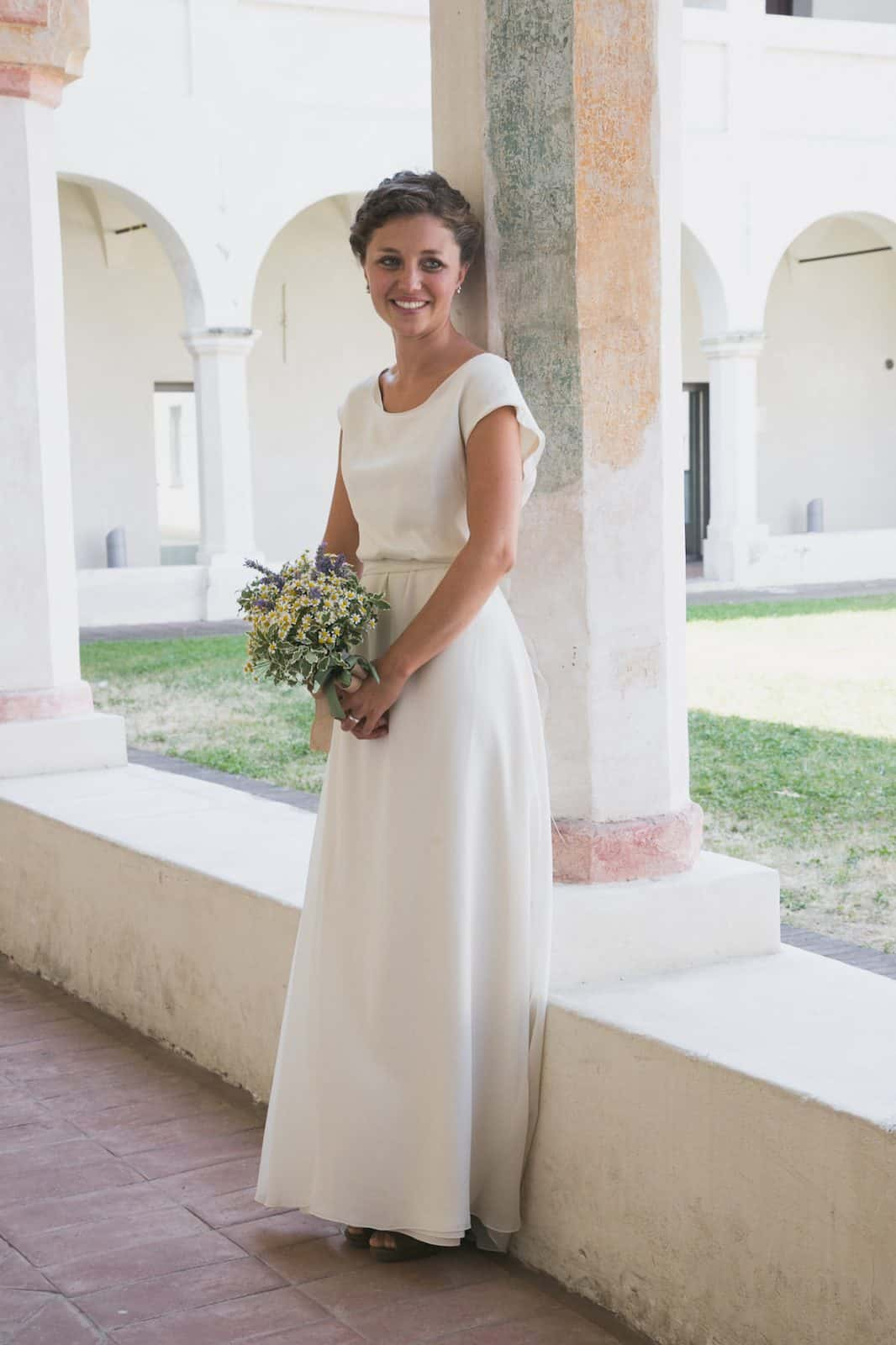 Laura Althea Larimeloom wedding dress