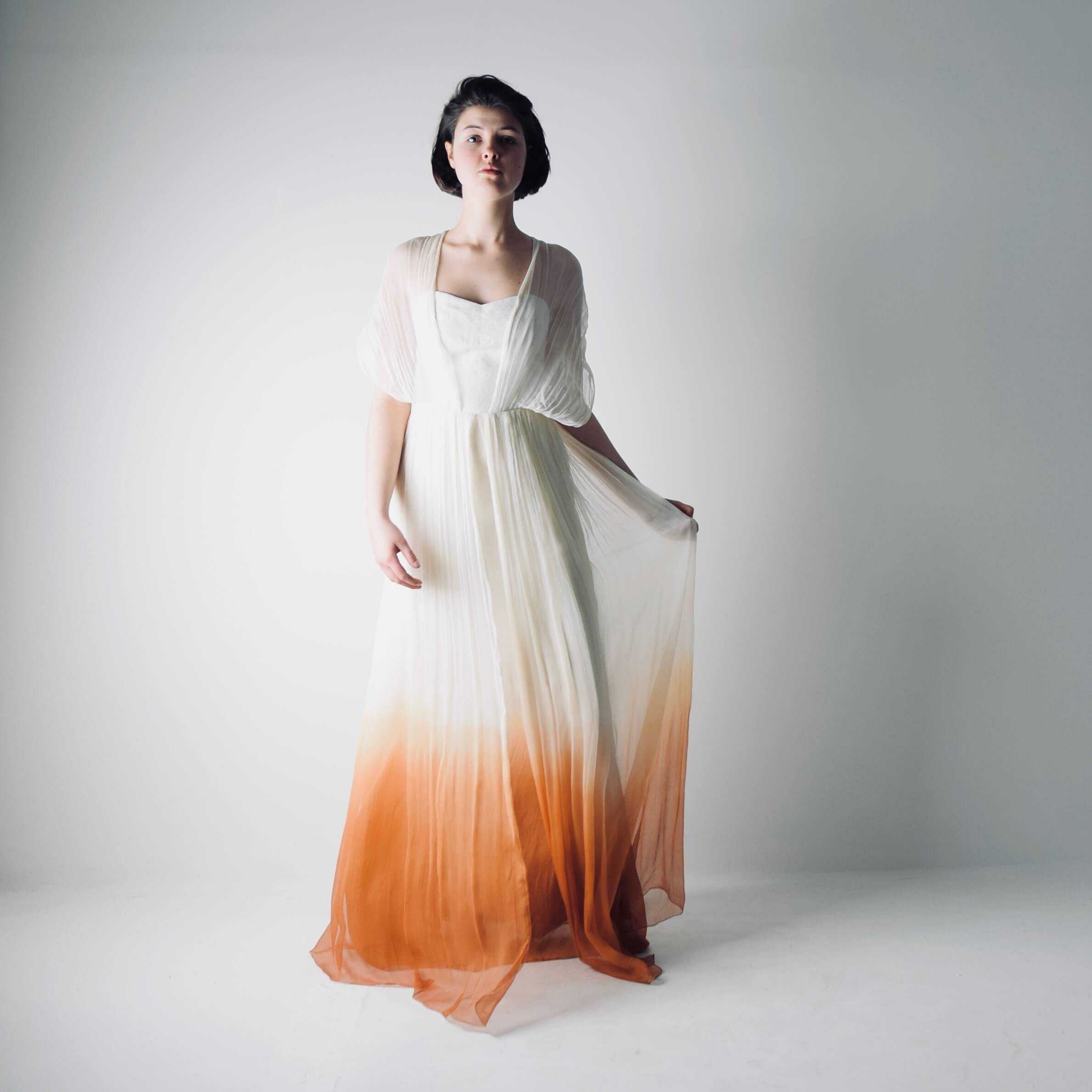 Ombre Wedding Dress: Helianthus >> Made In Italy