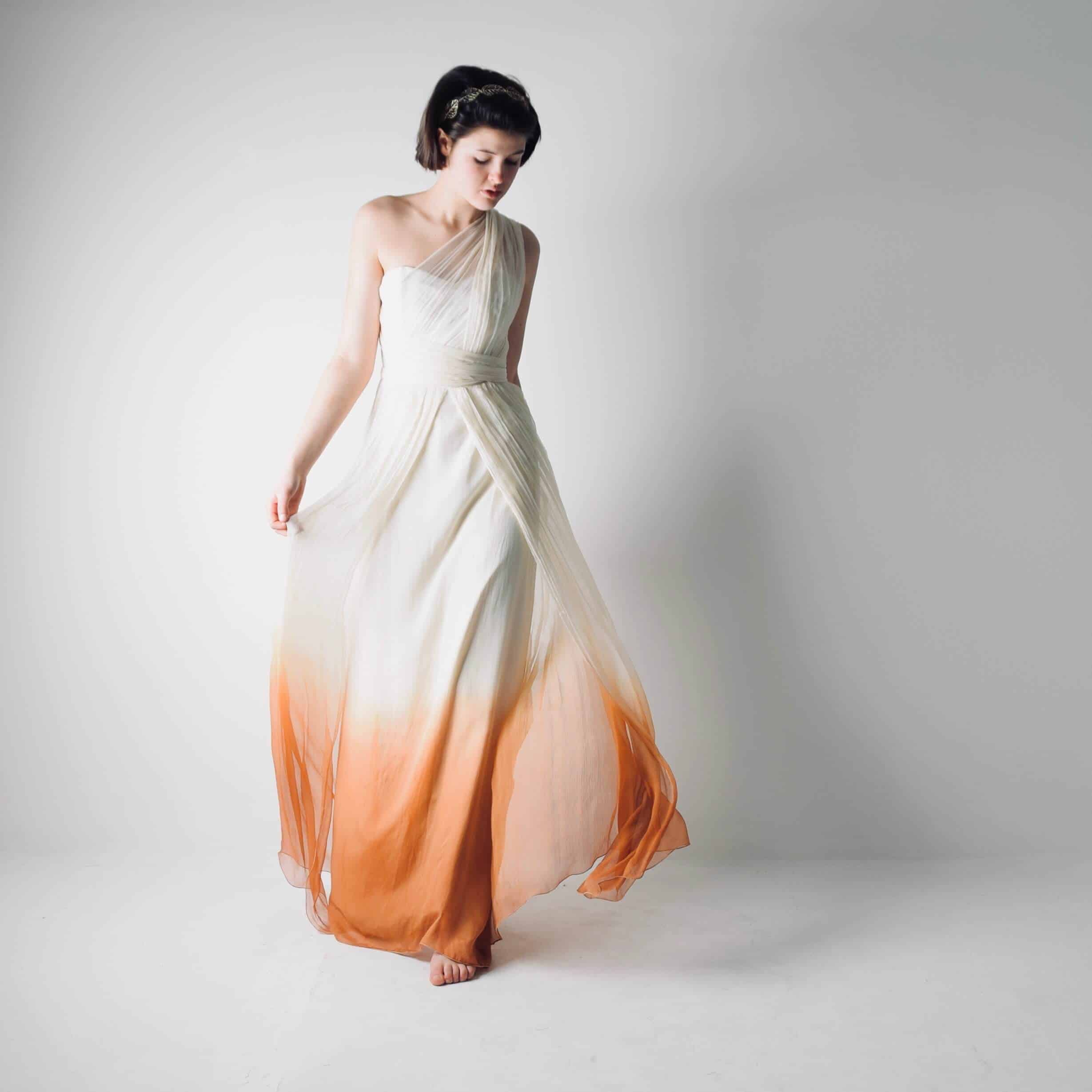 Ombre Wedding Gown: Helianthus >> Made In Italy