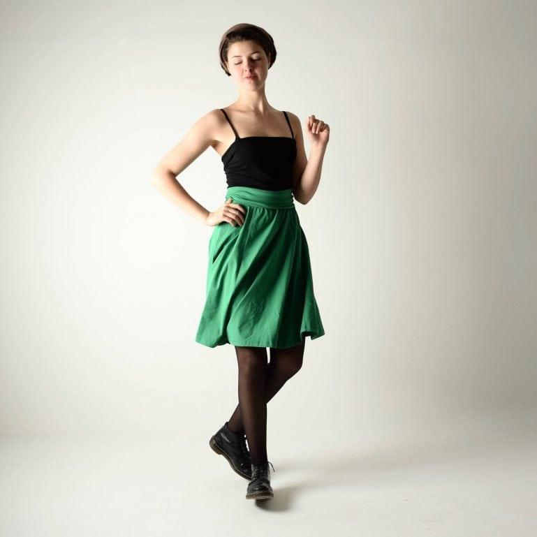 Strapless short dress or knee length skirt ~ Multi-way dress by Larimeloom