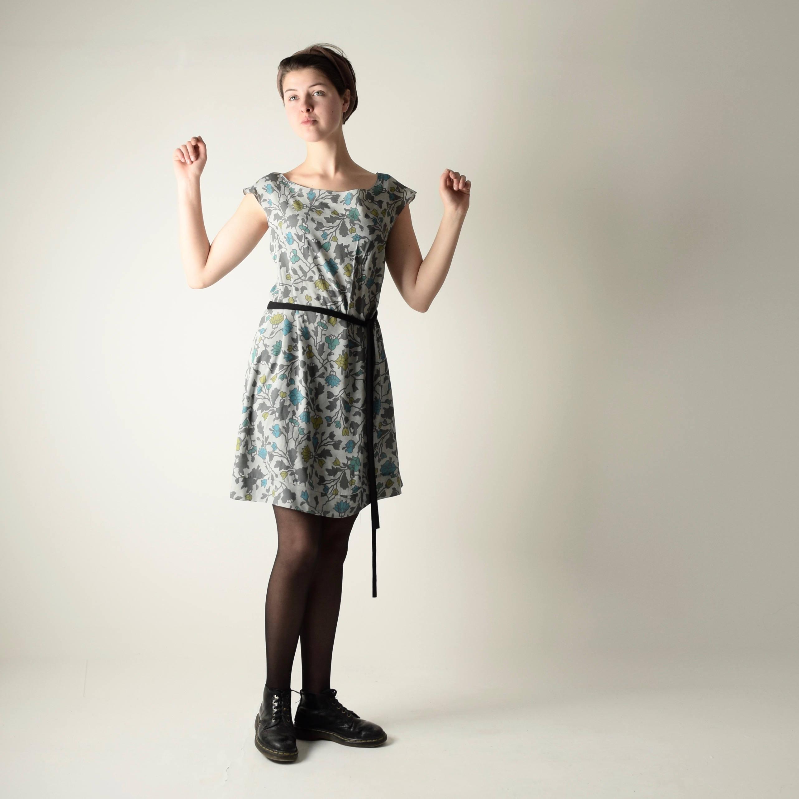 6d2ada74adb Knee Length Floral Summer Dress