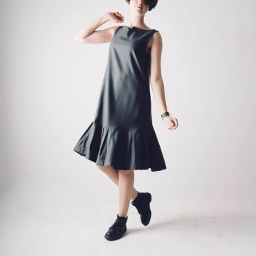 Sleeveless Wool Tunic Dress