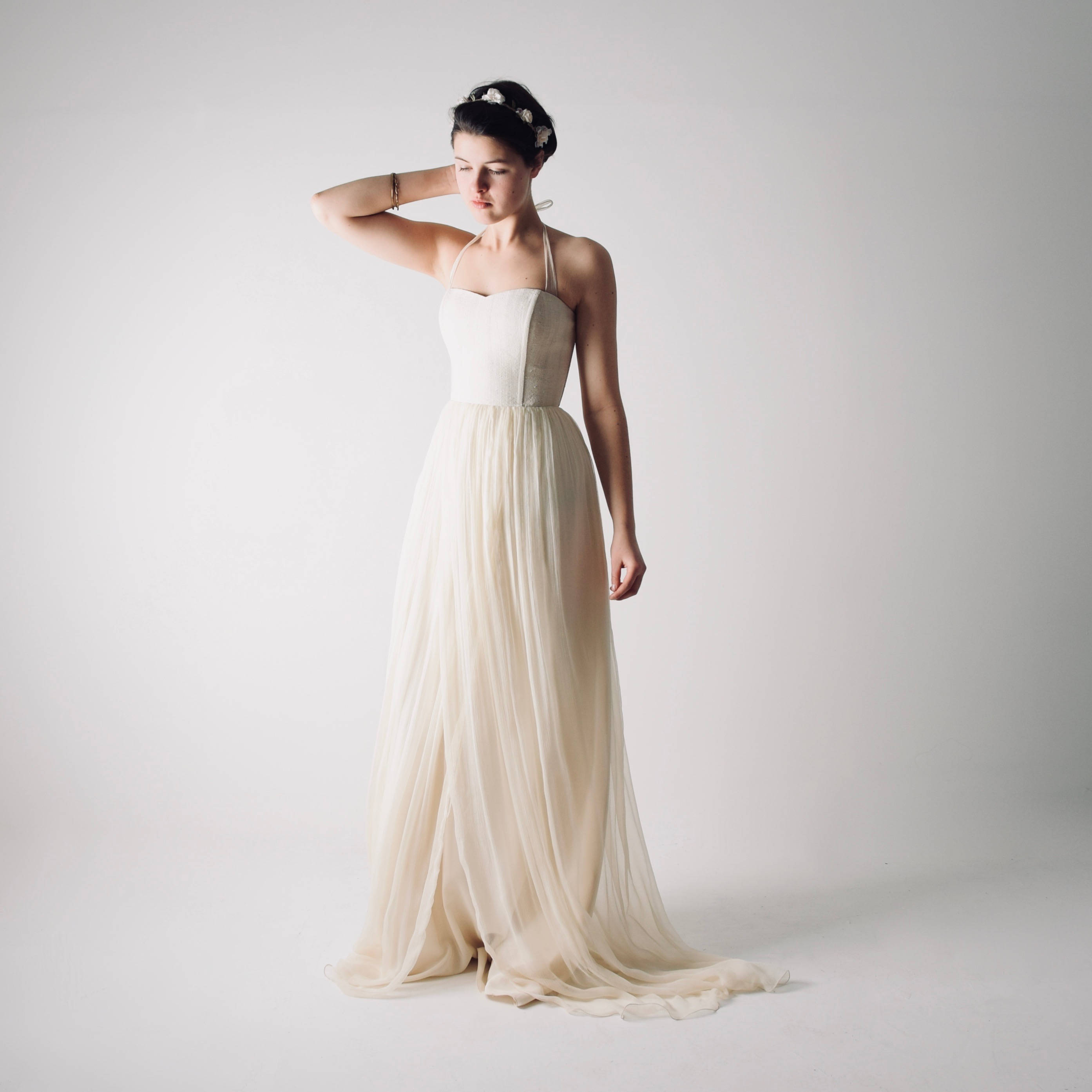 Tilia Hemp And Silk Wedding Dress