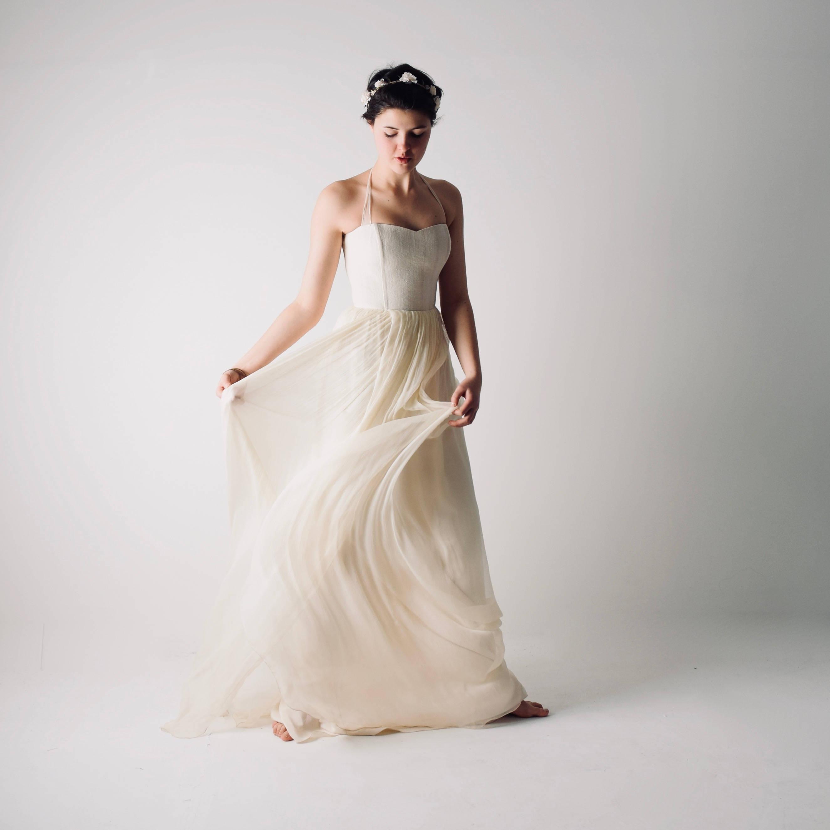 Silk Wedding Dress.Tilia Hemp And Silk Wedding Dress