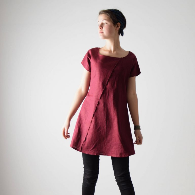 Short sleeve Linen tunic