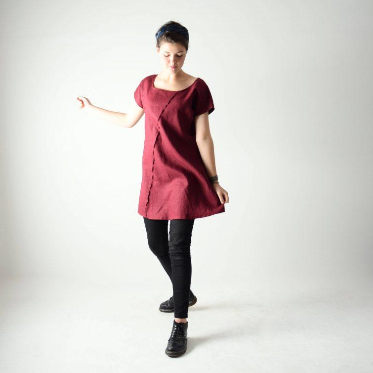 Short sleeve Linen tunic