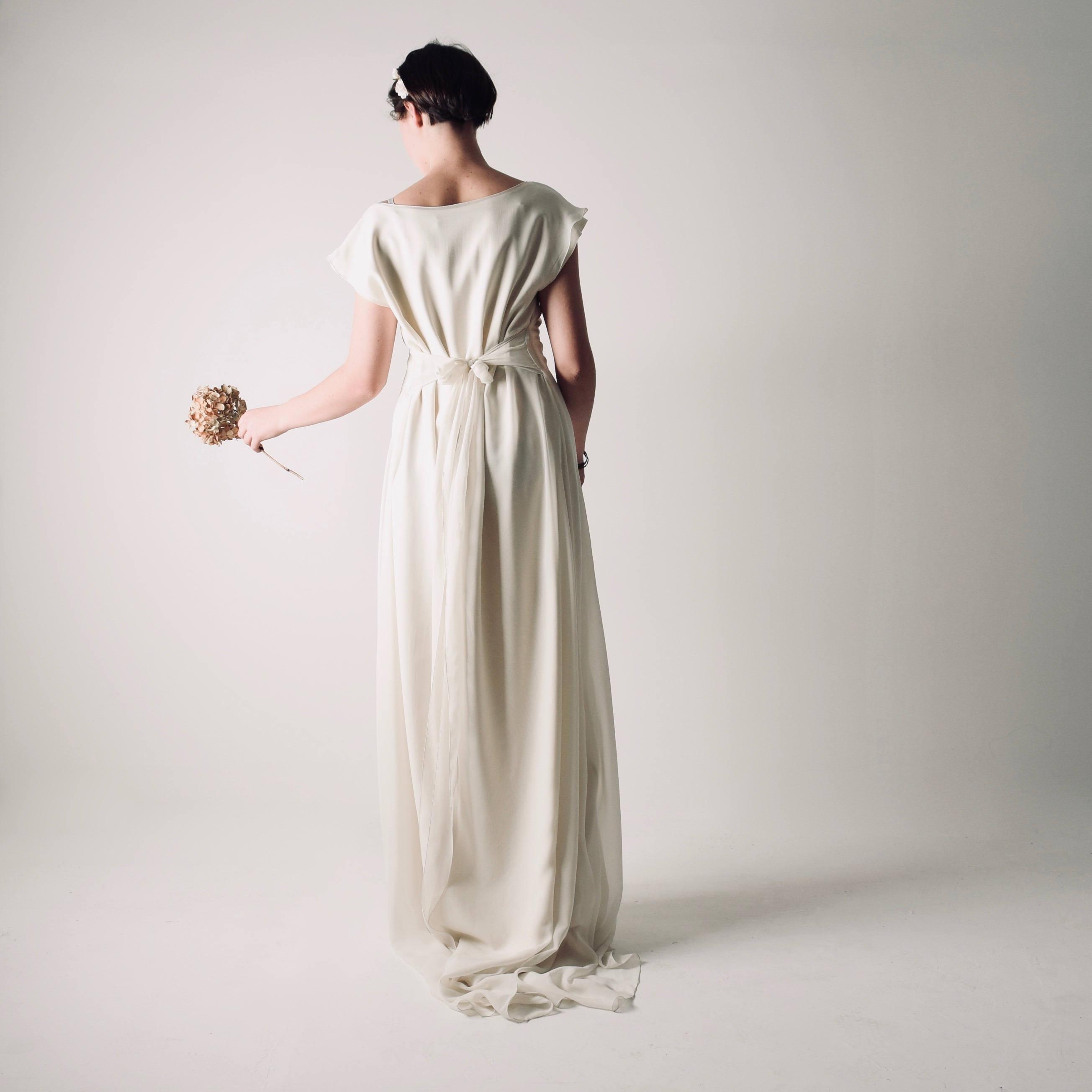 Althea Long Tunic Wedding Dress