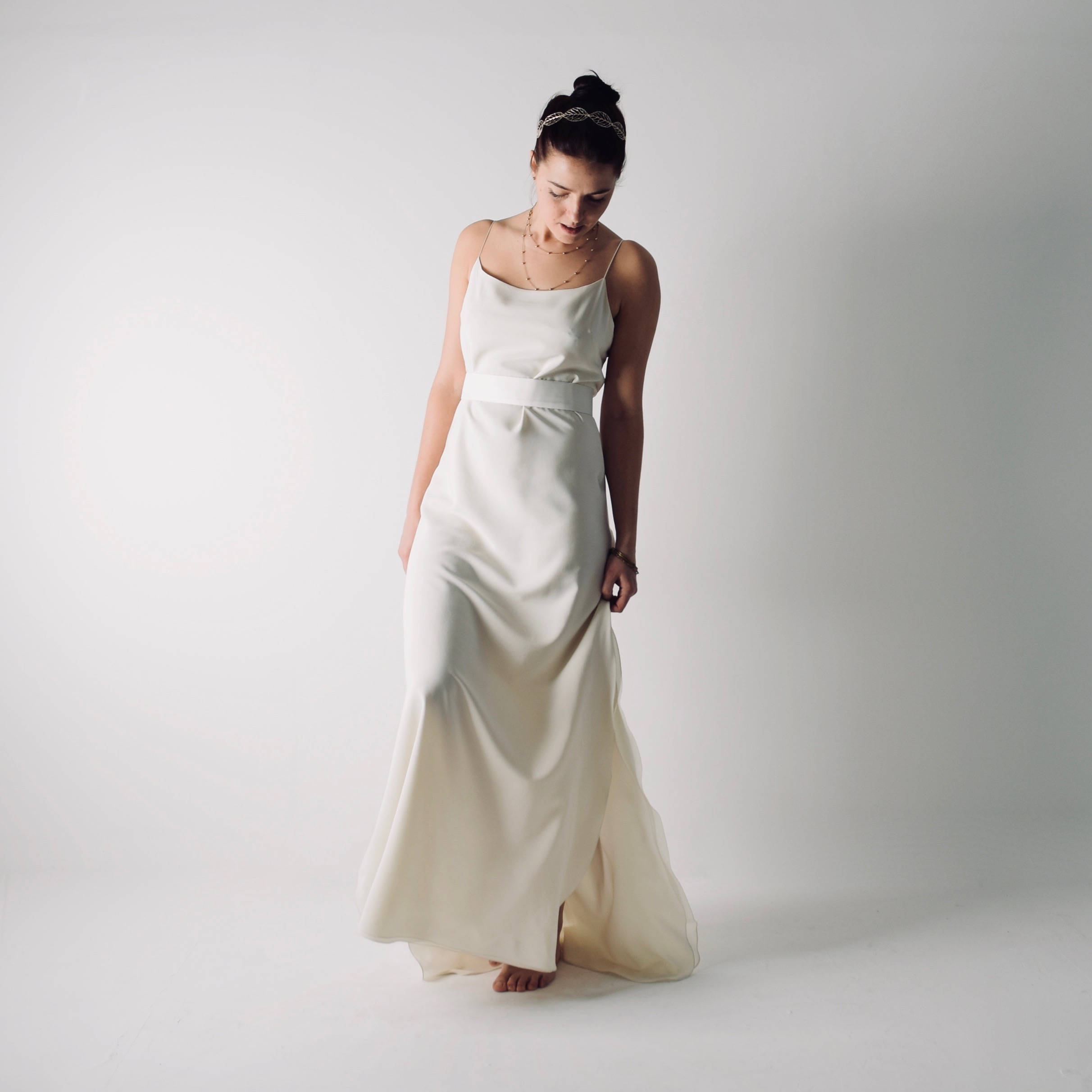 Simple Wedding Dress Divisoria: Simple Slip Wedding Dress