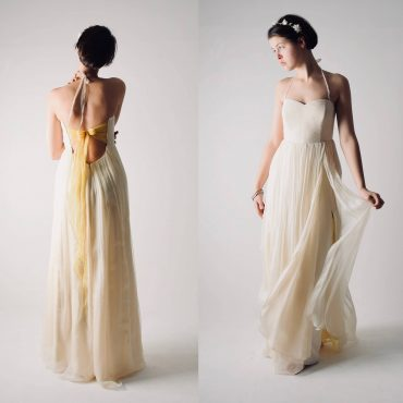 Summer Backless wedding dress