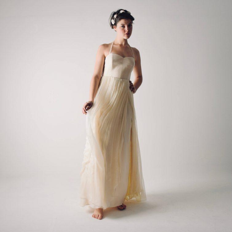 Summer Backless wedding dress