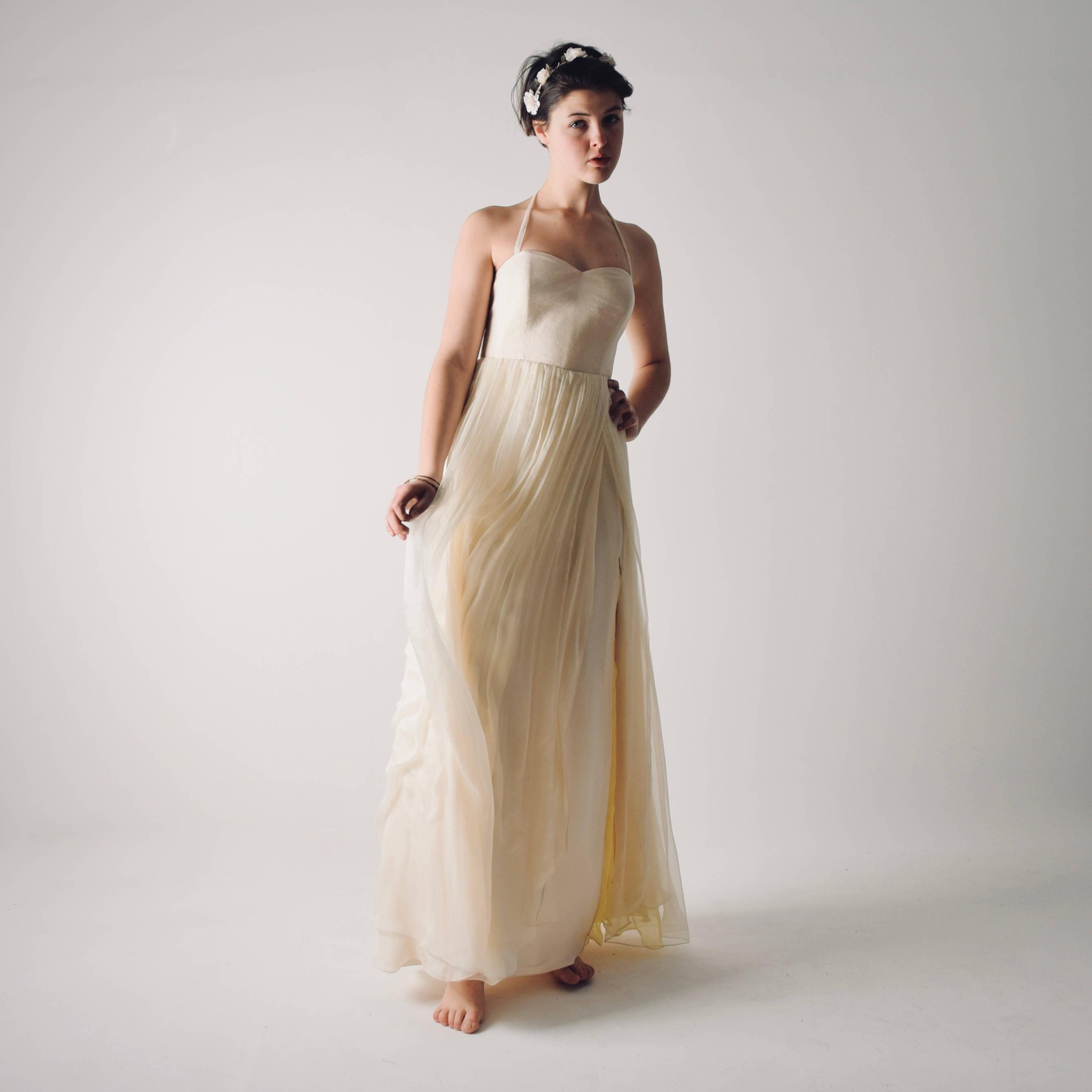 Eco Bridal Dresses For The Summer Bride: Narcissus >> Larimeloom
