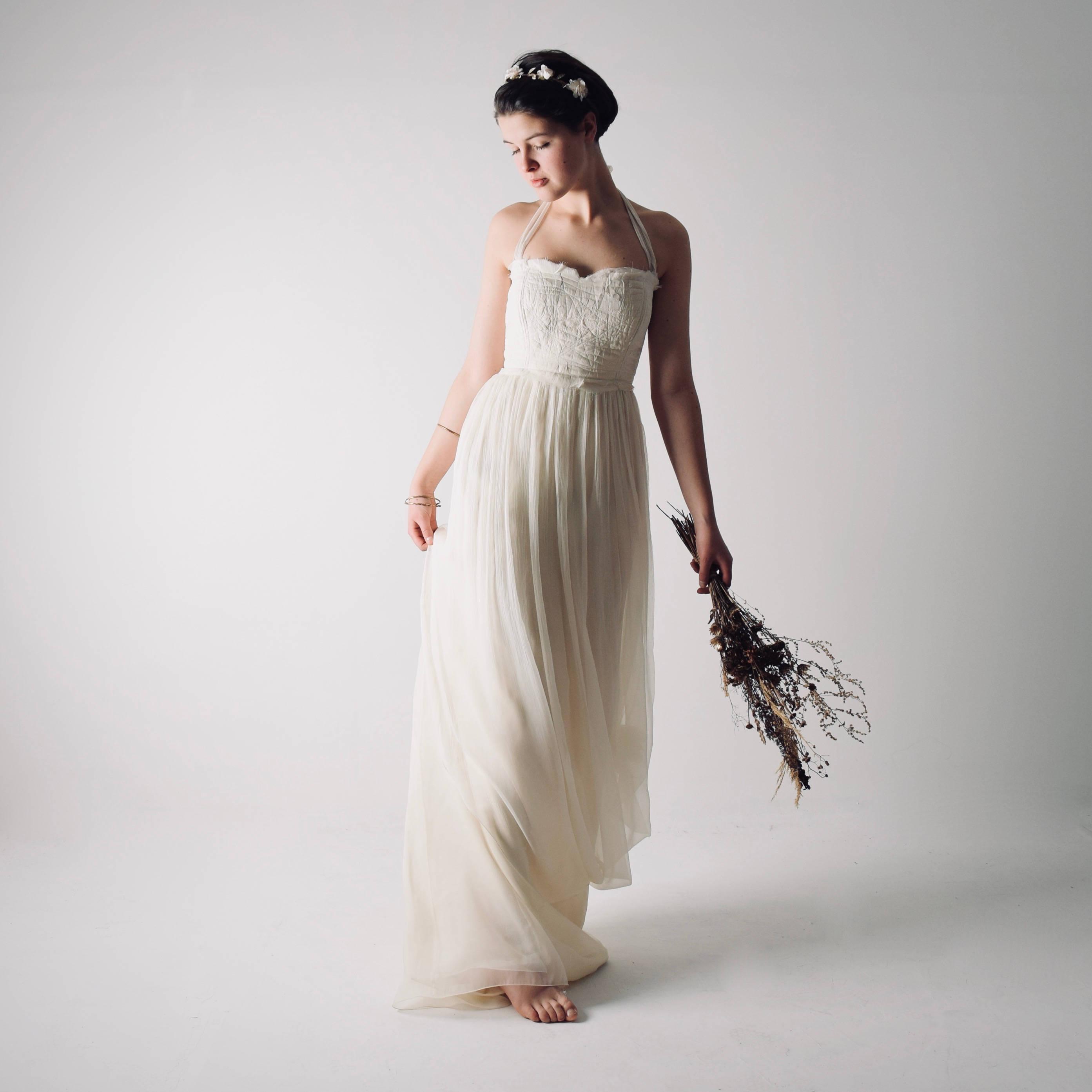 Boho beach wedding dress - Larimeloom