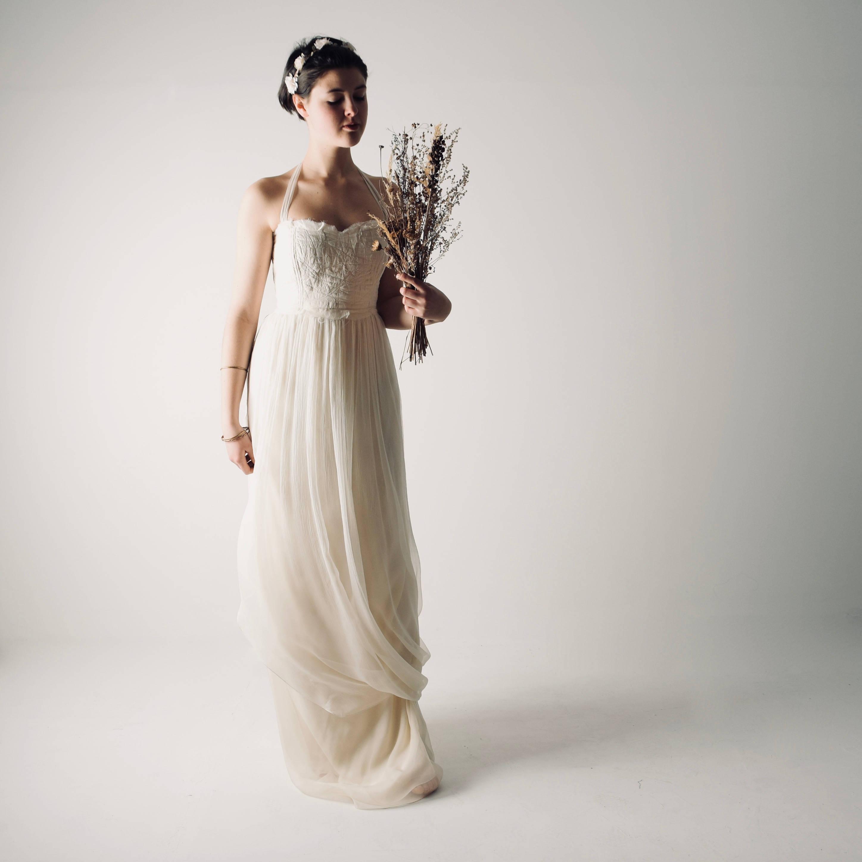 Boho Beach Wedding Dress