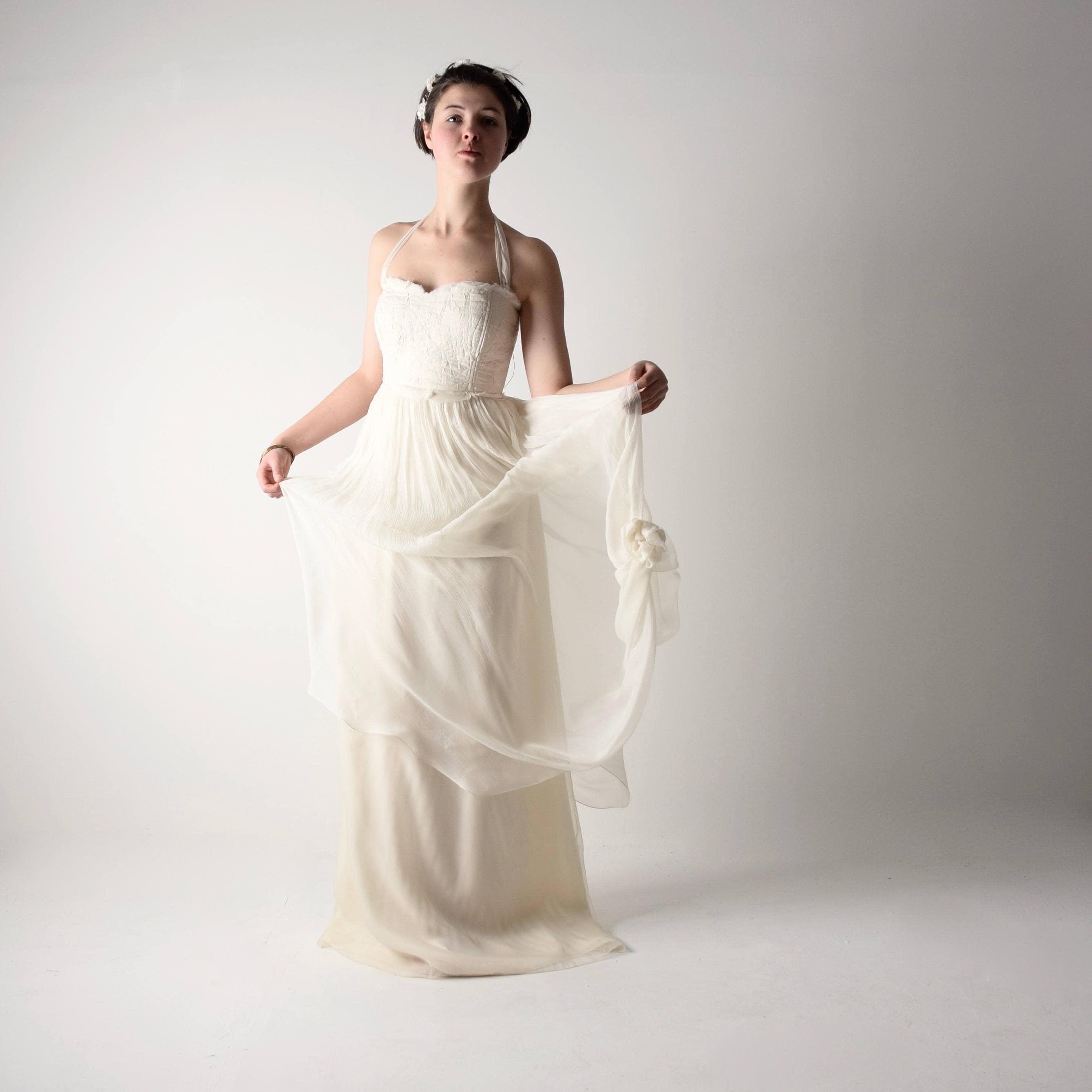 Boho Beach Wedding Dress Plus Size Toffee Art