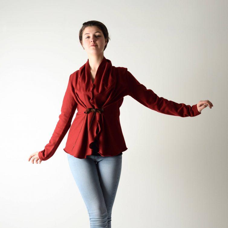 Wool Shawl Collar Jacket
