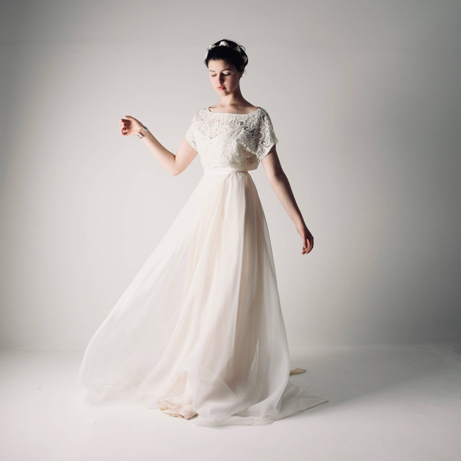 Bohemian Wedding Dress Separates