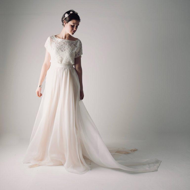 Currant ~ Wedding dress separates by Larimeloom
