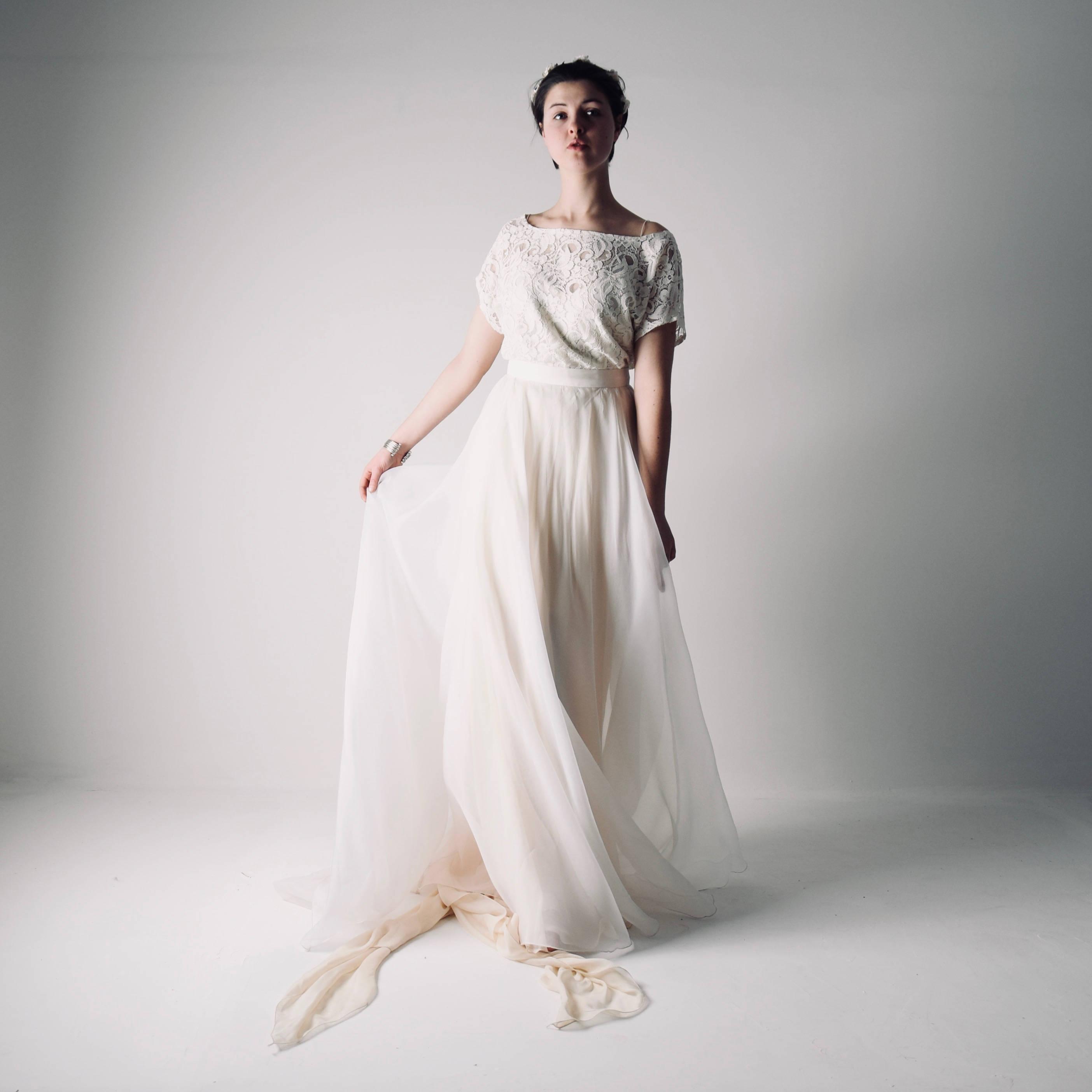 Bridal Separates: Bohemian Wedding Dress Separates