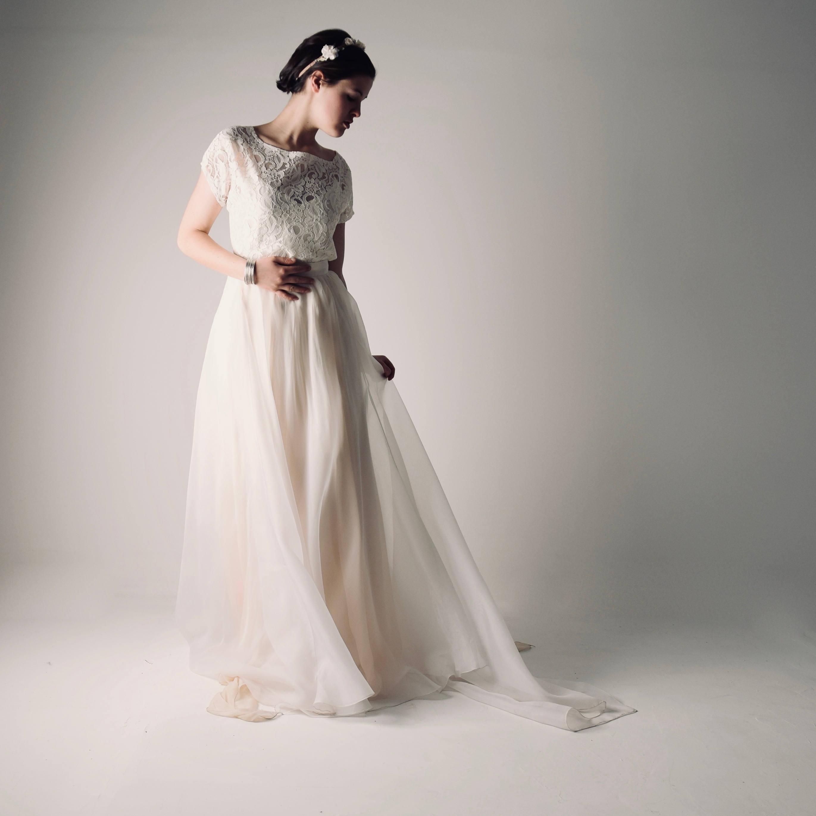 41feddc66037 Bohemian wedding dress separates | Larimeloom Shop online