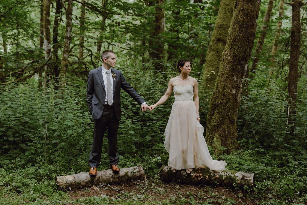 Priscilla's blush fairy wedding dress
