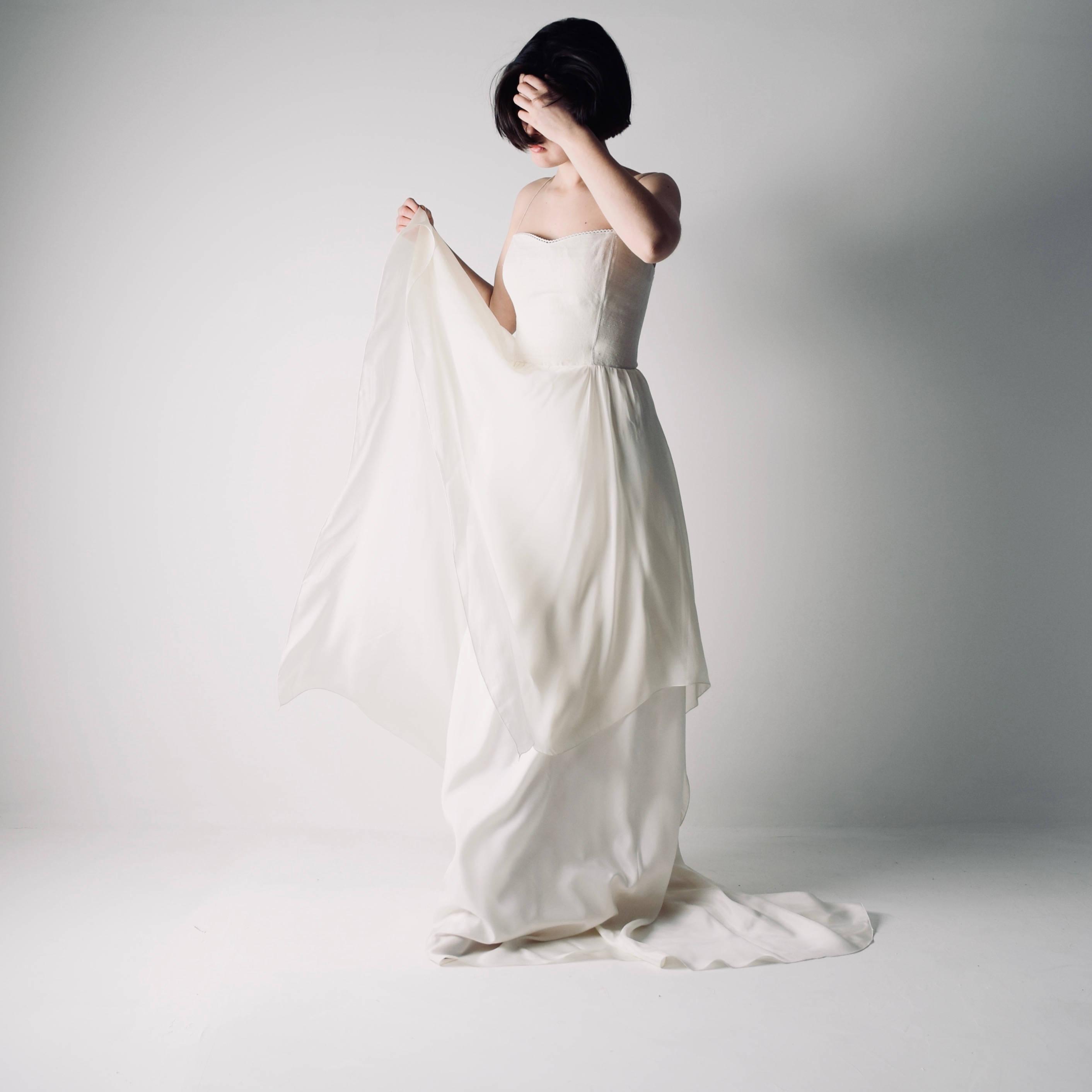 Corset Wedding Dresses.Agapanthus Hemp Corset Wedding Dress