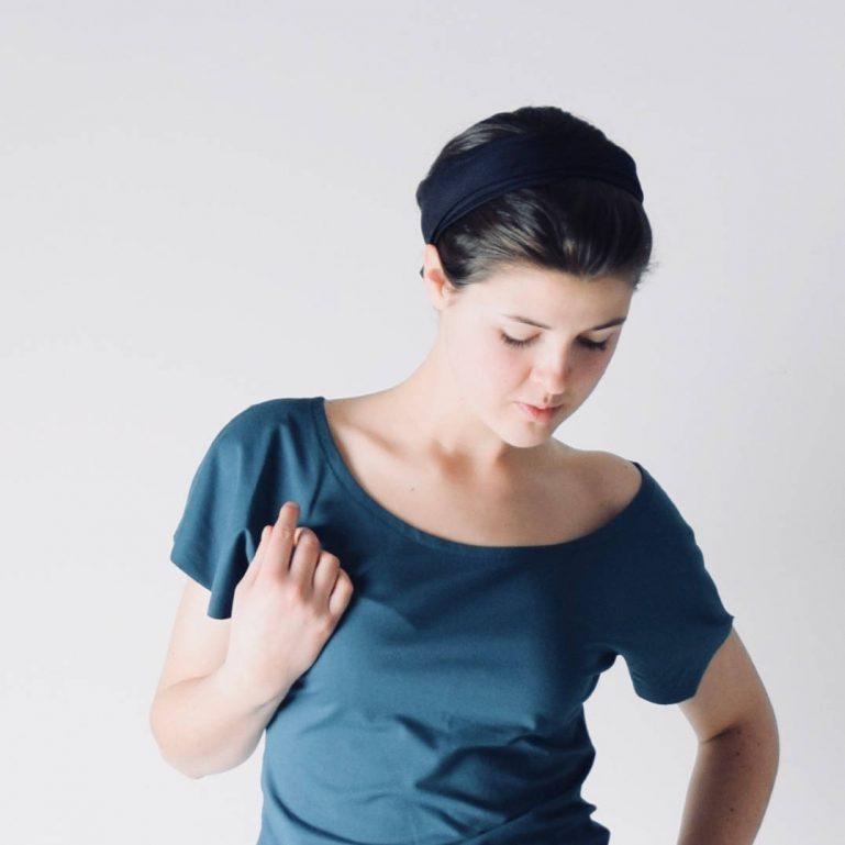 Flutter sleeve cotton tank top